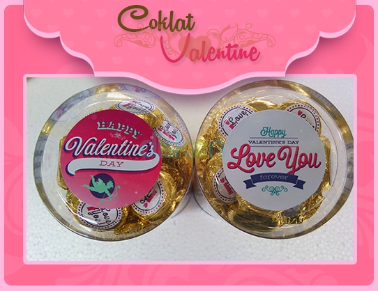 Valentines Chocolate Coins