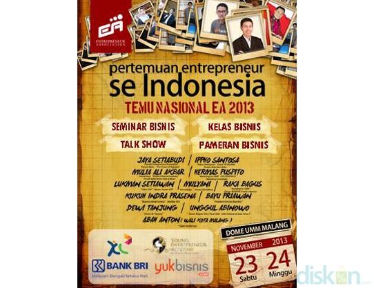 Tiket Seminar Temu Nasional EA 2013