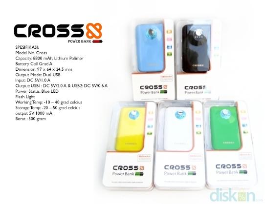 Powerbank Cross 8800 mAh