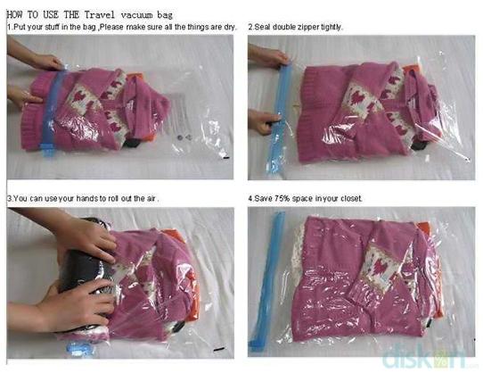 Hand Rolling Compress Bag