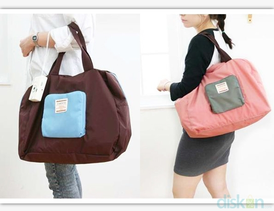 Korean Foldable Shopping Bag