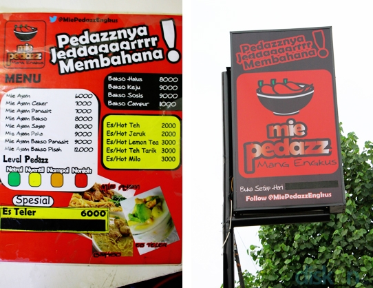 Mie Pedazz Mang Engkus