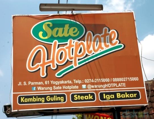 Warung Sate Hotplate