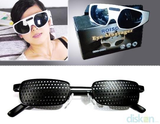 Eye Massager   Kacamata pinholeJaga Kesehatan Mata Dengan Terapi  Menggunakan Eye Massager Roison dan Kacamata Pinhole 18d771460a