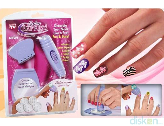 Salon Express Nail ArtHave Beautiful Nails In Every Appearance Using The  Salon Express Nail Art, Only Rp 33,000!