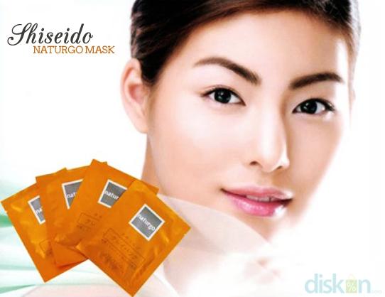 Shiseido Naturgo Mud MaskWajah Bersih Bebas Komedo & Minyak Berlebih Dengan Shiseido Naturgo Mud Mask Harga Mulai Rp 12.000 (Isi 3 pcs)